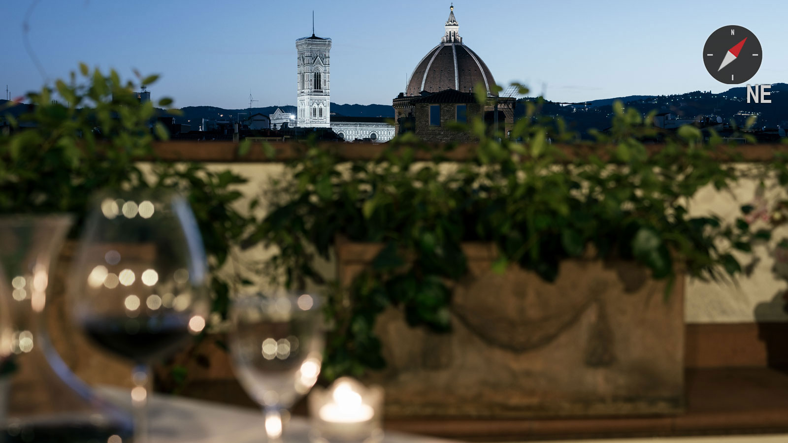 Florence Rooftop Wine Bar And Restaurant With Best View